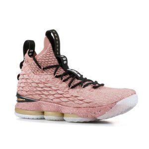 """Nike Lebron XV 15 GS 943762-600 """"Hollywood"""" 5Y Wmn"""